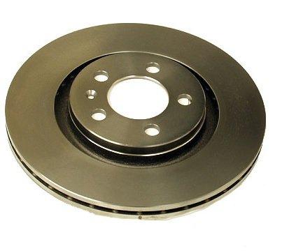 Brembo 09.7012.11 UV Coated Front Disc Brake (Brembo Volkswagen Golf)