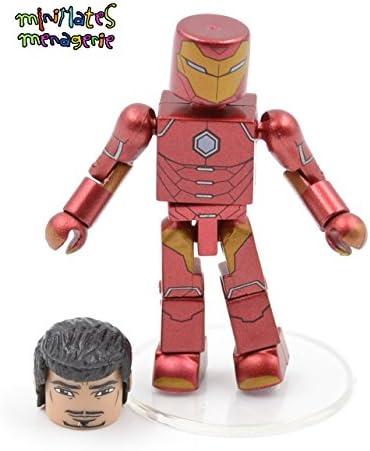 Marvel Minimates Best of Marvel Iron Man et la chose 2 Pack série 1