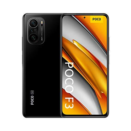 Xiaomi Poco F3 - Smartphone 128GB, 6GB RAM, Dual Sim, Night Black