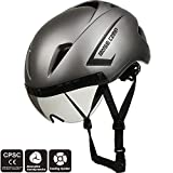 Best Adult Bike Helmets - BASE CAMP AIRCROSS Road Bike Helmet with Detachable Review