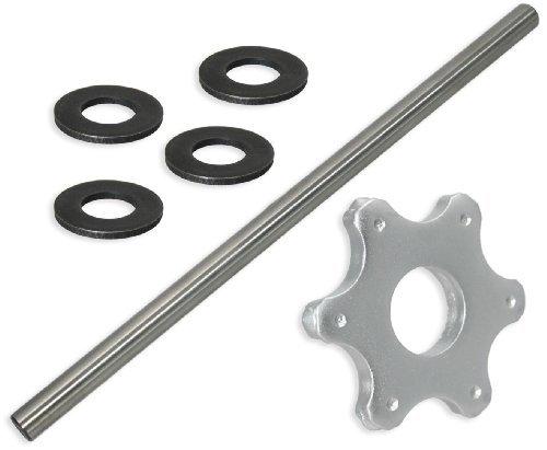 6 pt Carbide Flail Cutter Consumables Kit for Edco® CPM-8® Scarifier/Concrete Planer - Fine Setup