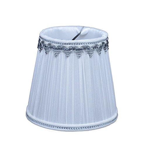 Lampenschirm Stoff Textil Birne Runde Kerze Kronleuchter ...