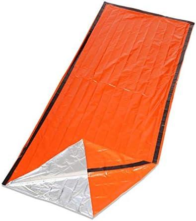 Reusable Emergency Sleeping  Thermal Waterproof Survival Camping Travel