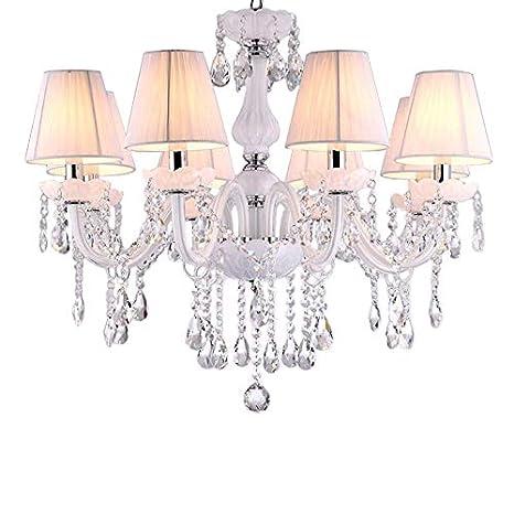 Sala de estar lámparas de techo de cristal de lujo clásico ...
