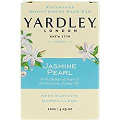 Naturally Moisturizing Bath Bar with Mother of Pearl & Moisturizing Sesame Oil. Trusted for generations, Yardley bath bars are crafted with essential oils and moisturizing ingredients that help smooth your skin and soothe your mind. Now Y...