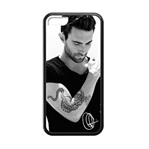 Adam Levine Maroon 5 HOT Music Band Cell Phone Protector for iPhone 5C Plastic and TPU (Laser Technology)