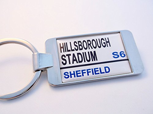 fan products of Sheffield Weds Stadium Street Sign Keychain