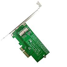 QNINE PCIe SSD Adapter Card for MacBook Air and Pro Retina 2013 or Later, HDD Hard Disk Drive Controller Converter to PCI Express X4 Support Model A1465 A1466 A1398 A1502 2013 2014 2015