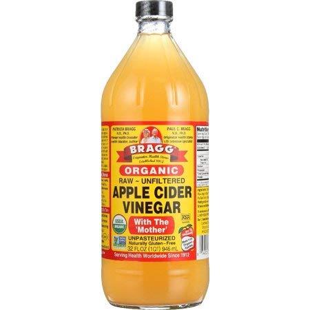 Bragg Organic Apple Cider Vinegar Raw Unfiltered (Non-GMO Certified), 32.0 FL OZ – 2 Pack For Sale