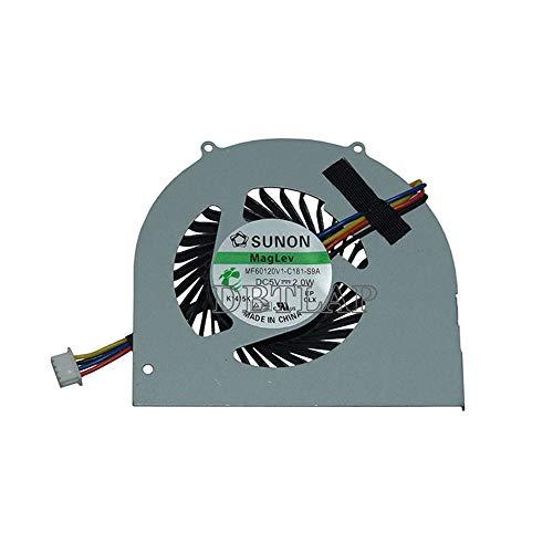 DBTLAP Laptop CPU Fan Compatible for Lenovo IdeaCentre Q100 Q110 Q120 Q150 Cooling Fan MF50060V1-B090-S99 CPU Cooler Fan