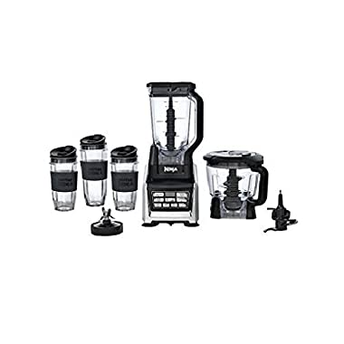 NEW Nutri Ninja BL680A Auto-IQ 1500 Watts Duo Nutrient Extraction Blender System