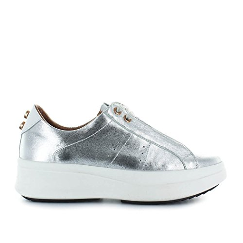 Laminated Summer Women's ALEXANDER SMITH 2018 Silver Spring Shoes Sneaker I0xqgqw5C