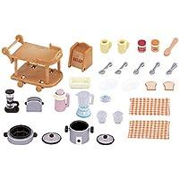 Sylvanian Families - 5090 - Mobilier De Poupée - Batterie De Cuisine