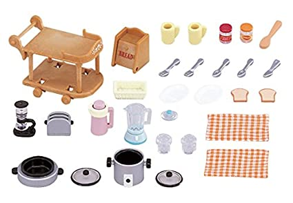 Buy Sylvanian Families Kitchen Cookware Set Online At Low Prices In