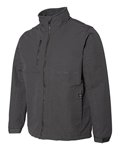 - DRI Duck Men's 5369 Navigator Polar-Fleece Lined Zip-Up Jacket (Large, Charcoal)