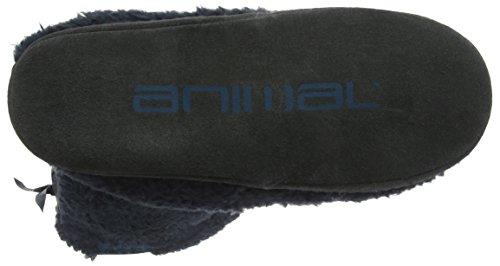 Animal Bollo, Zapatillas Altas para Hombre Azul (Total Eclipse Navy)