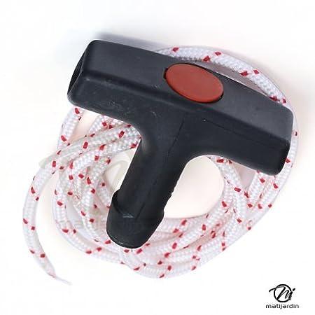 Kit - tirador de arranque + cuerda para desbrozadora Stihl: Amazon ...