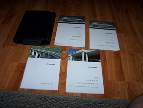 amazon com 2008 lexus es 350 owners manual guide book lexus books rh amazon com 2007 lexus es 350 owners manual 2008 lexus es 350 owners manual download