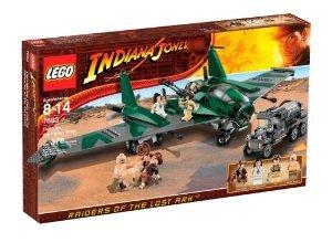 [해외] LEGO (레고) INDIANA JONES (인디안나 존스) FIGHT ON THE FLYING WING (7683) 블럭 장난감 (병행수입)