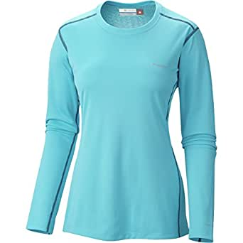 Columbia Women's Midweight II L/S Top Atoll/Nocturnal T-Shirt LG