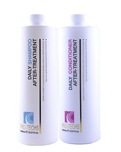PRO-TECHS Keratin Shampoo & Conditioner For Maintenance. ...