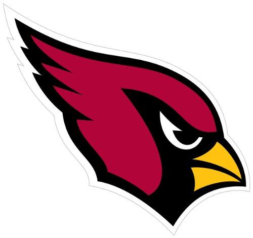 "NFL Arizona Cardinals 8"" Automotive Magnet"