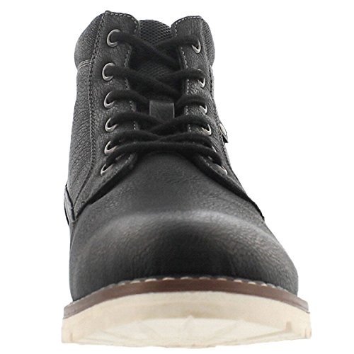 Black B SoftMoc Lace Boot Hallway Ankle amp;B Men's Up zxOqx87w