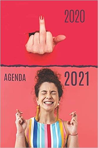 Calendrier Original 2021 AGENDA 2021: Cadeau original   Planificateur journalier/agenda