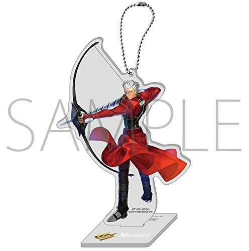 Fate EXTELLA acrylic key chain with stand D Mumei From Japan New ()
