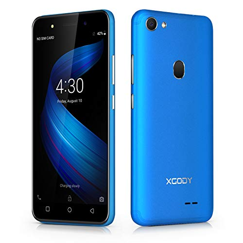Xgody 5 Inch Android 8.1 Cellphone Unlocked Dual Rear Camera Unlocked Smartphone 8GB+1GB Celulares Desbloqueados 2G/3G Network T-Mobile/at&T/MetroPCS - Cheap Phones Metro From Pcs