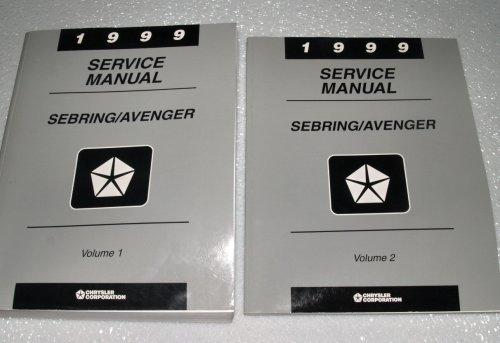 1999 Chrysler Sebring, Dodge Avenger Service Manuals (2 Volume ()