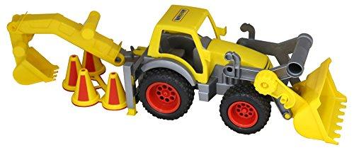 Polesie Polesie0377 Construck Loader with Rear Excavator Toy (Excavator Rear)