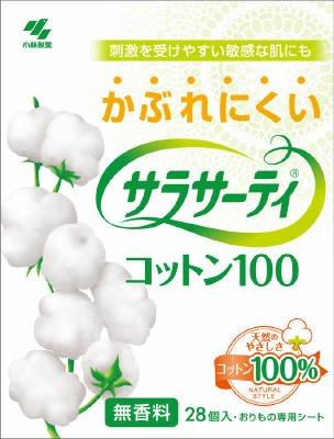 小林製薬 サラサーティコットン100 28枚×72点セット (4987072001097)   B00SB6C90E