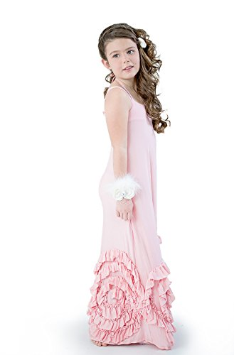 Full bloom Maxi Dress by Pixie Girl, by Vicki Sigg - 14 colors. A must have! (10, Peach)