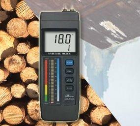 Baufechtemessgerät Feuchtemesser Holz Beton Estrich Ziegel MS-7003 F11