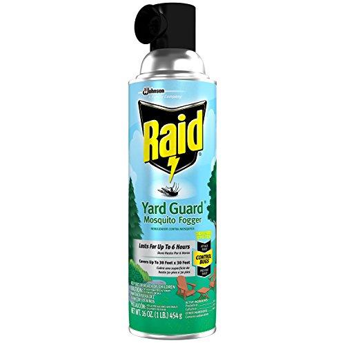 Raid Yard Guard Mosquito Fogger 16 oz, 12 - Guard Yard