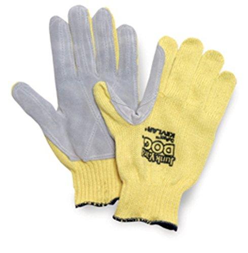 Junk Yard Dog Kevlar Gloves, Men'S, Yellow