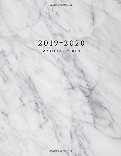 Pdf Transportation 2019-2020 Monthly Planner: Large Two Year Planner with Marble Cover (Volume 1)