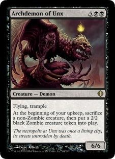 Magic: the Gathering - Archdemon of Unx - Shards of - Alara Mint