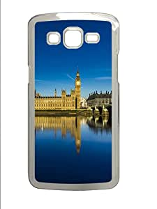 London Parliament Custom Samsung Galaxy Grand 2 7106 Case Cover ¨C Polycarbonate ¨CTransparent