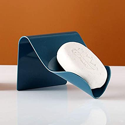 Blu wangruimei Holder Soap Box Sapone Sapone Contenitore per la casa di Viaggio Campeggio descursione Esterno Palestra