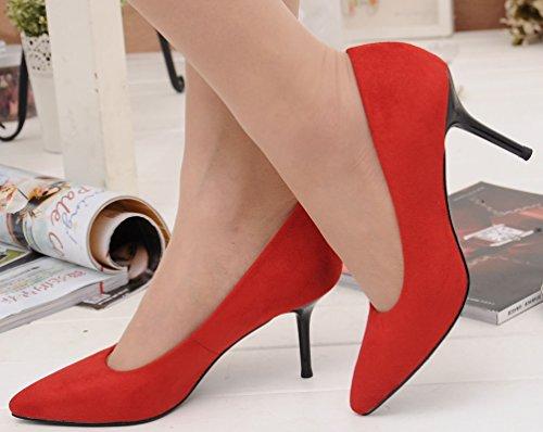 Compensées rouge Salabobo femme Red Sandales OqF5nF