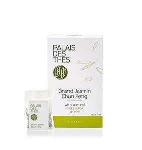 Palais des Thés Grand Jasmin Chun Feng Green Tea, 20 Tea Bags (40g/1.4oz)