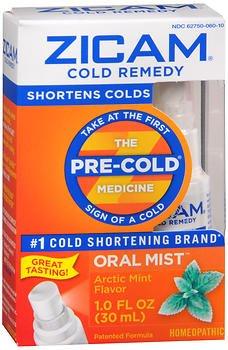 Zicam Cld Plus Oral Mist Size 1.0 O