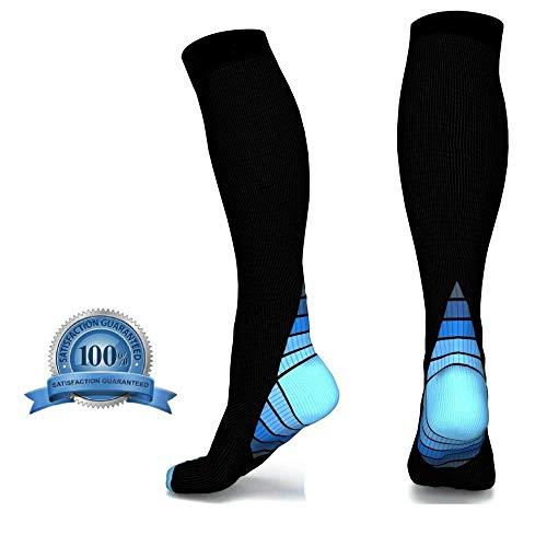 VivoPro Sports Compression Socks Blue S/M