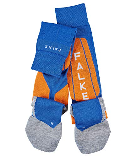 FALKE Men SK5 Ski Knee-High Socks - Silk Blend, Multiple Colours, UK sizes 5.5-12.5 (EU 39-48), 1 Pair - Ideal for advanced skiers, direct shoe contact for maximum control