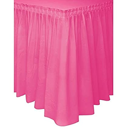 e25c3e716 Image Unavailable. Image not available for. Color: Pleated Plastic Table  Skirt, Self Adhesive ...