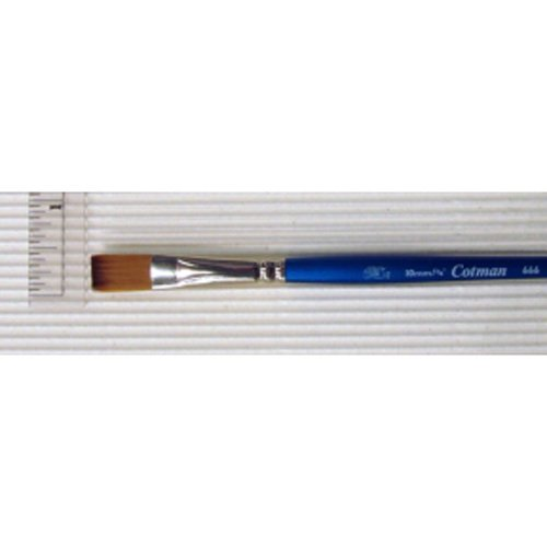 666 One Stroke Brushes - Winsor & Newton Cotman Water Colour Brushes 3/8 in. one stroke flat 666