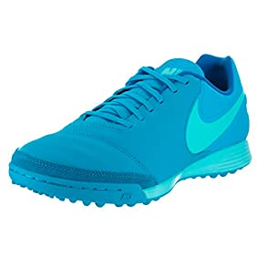 Nike Men's Tiempox Genio II Leather TF Turf Soccer Shoe