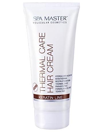 Spa Master - Crema termica protectora para cabello con keratina 200ml